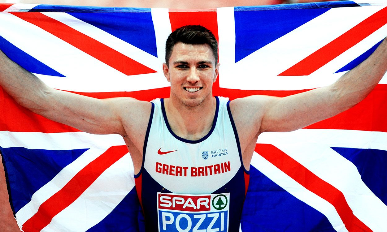 Andrew Pozzi wins European indoor 60m hurdles gold