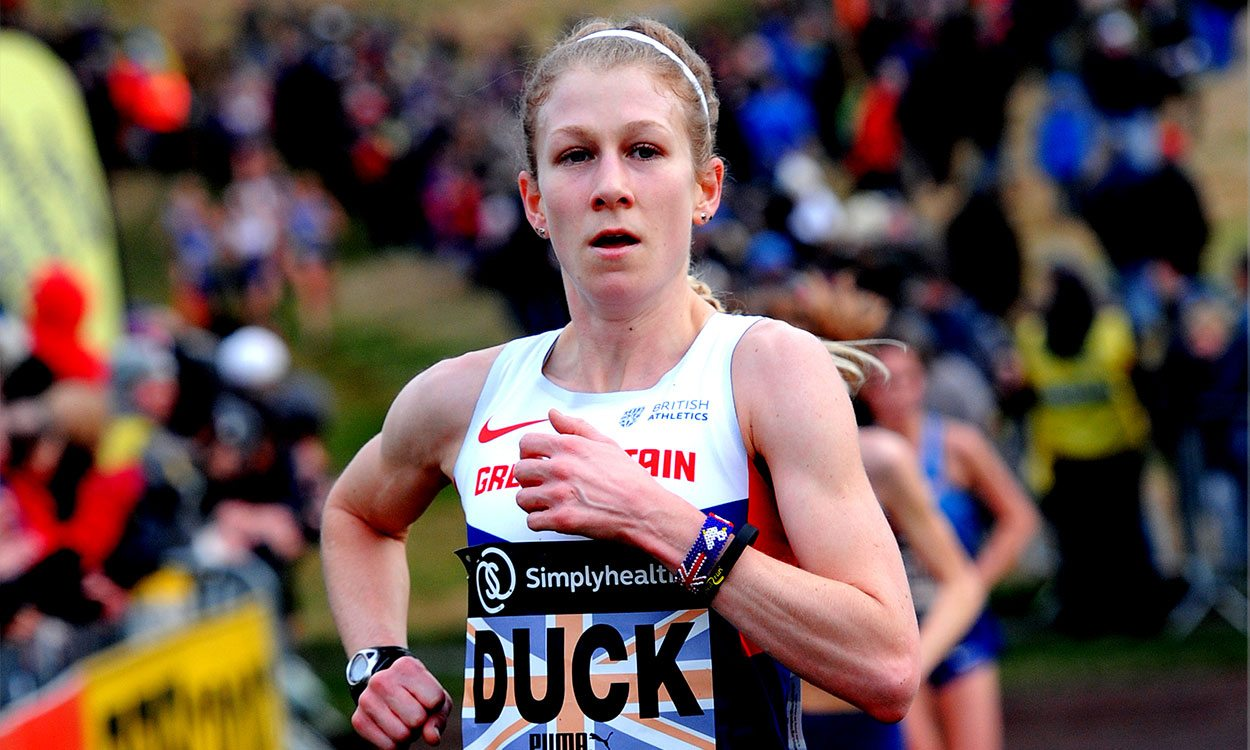 "Claire Duck ""honoured"" to captain GB World Cross team"