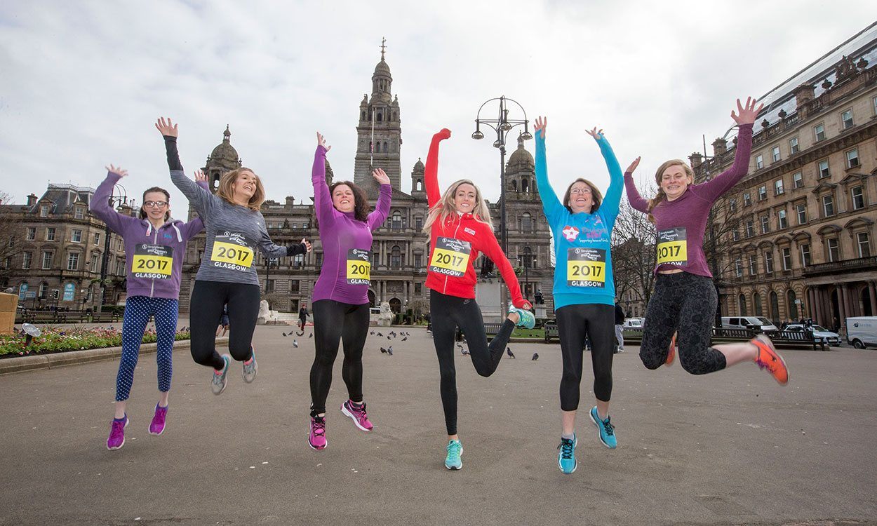 Eilish McColgan meets Simplyhealth Great Women's Run Super Six