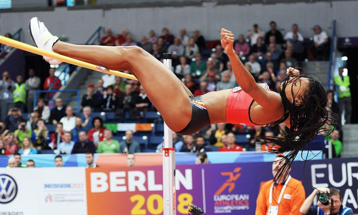 Nafissatou Thiam secures superb start in Euro Indoors pentathlon