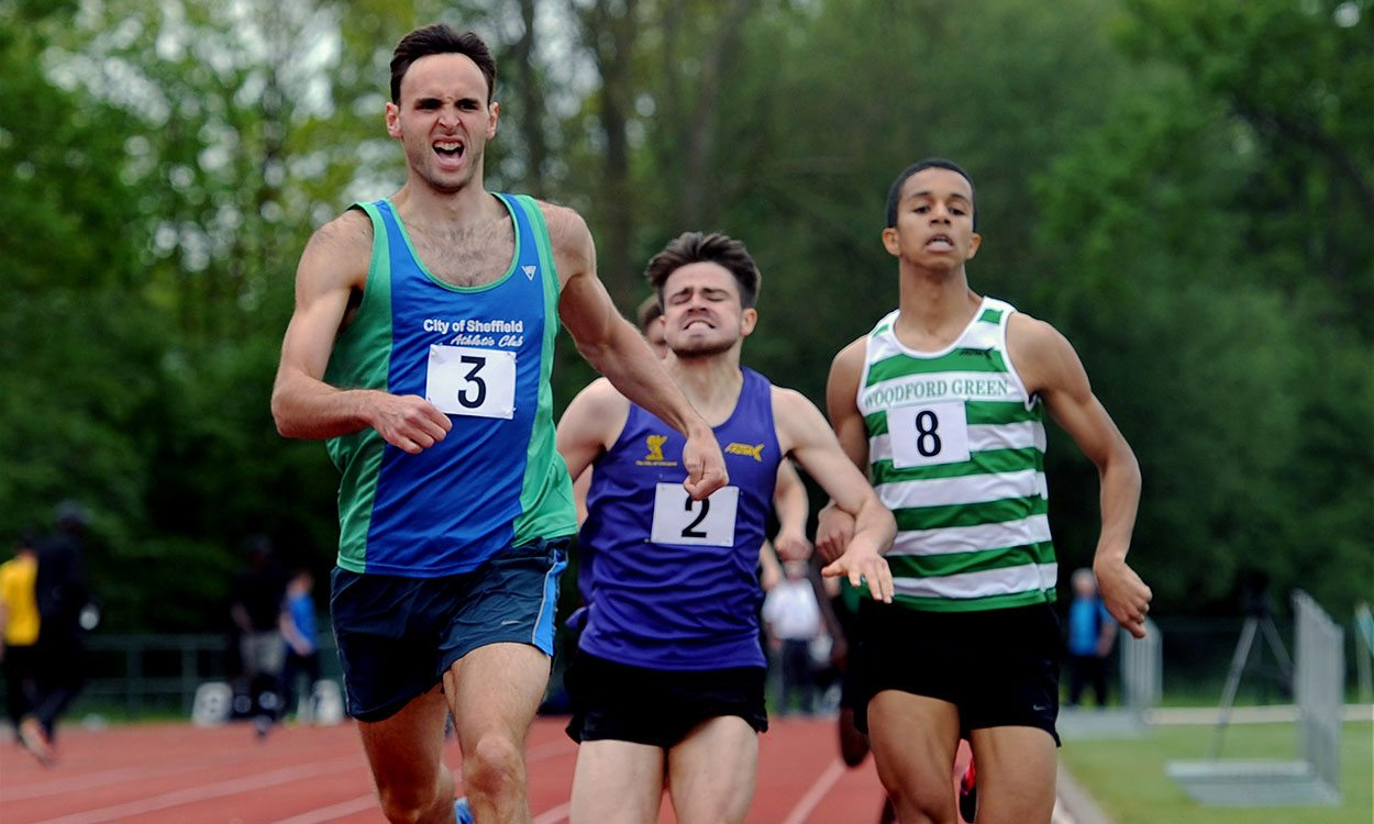 Middle-distance coaching: Adjust your speed