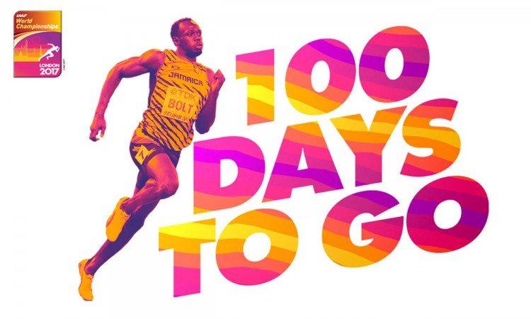 100-days-to-go-IAAF-London-2017