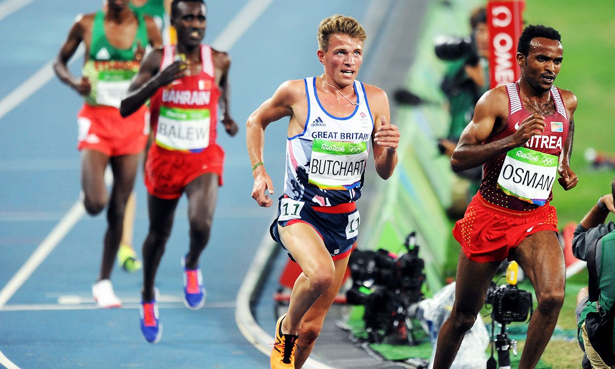 Andrew Butchart, running without fear