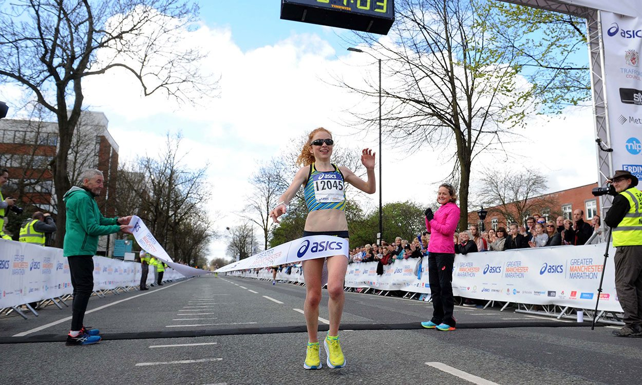 Georgie Bruinvels and Patrick Martin win ASICS Greater Manchester Marathon – weekly round-up