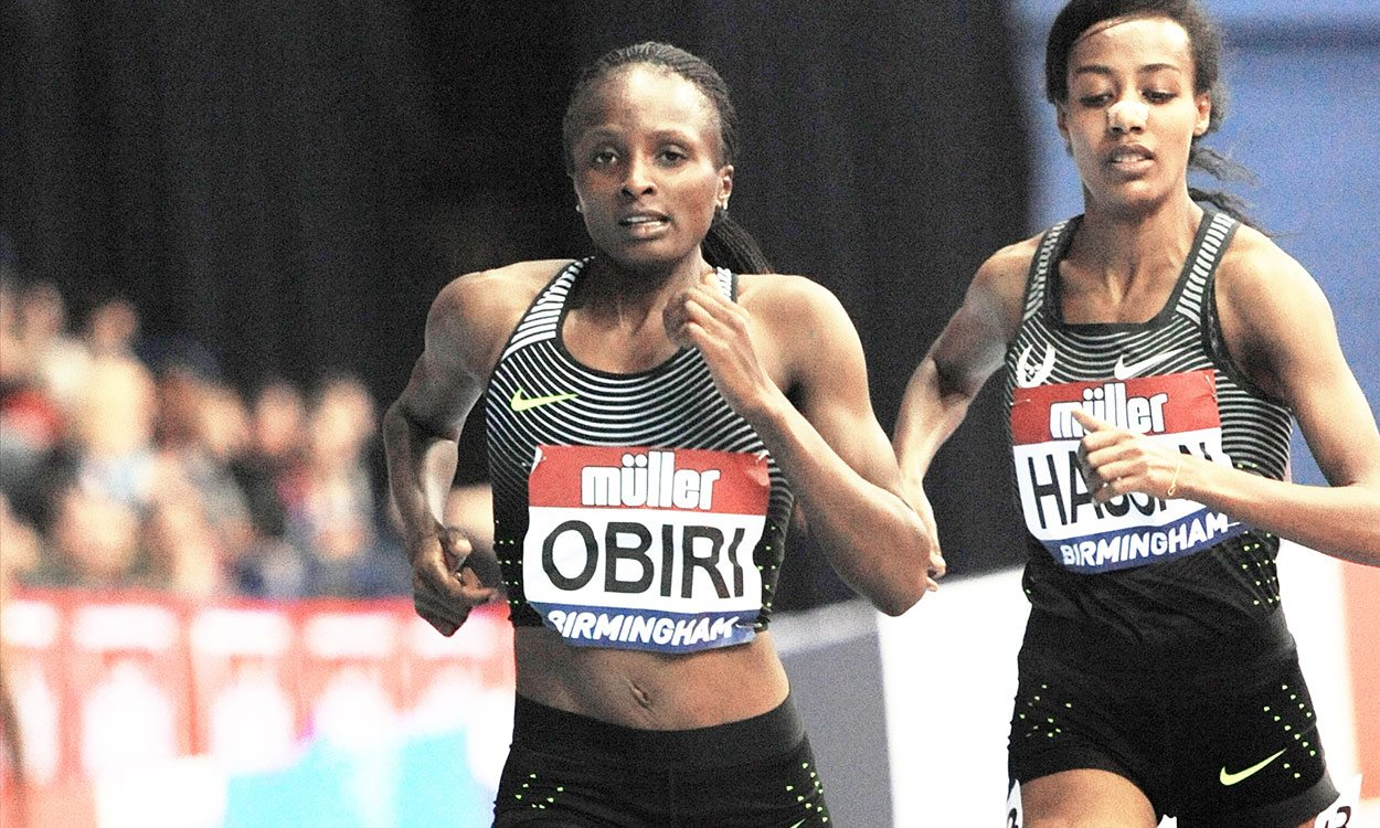 Hellen Obiri obliterates field with 14:18 in Rome 5000m