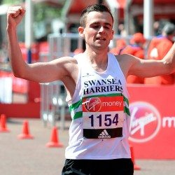 "Josh Griffiths' London Marathon ""eye-opener"""