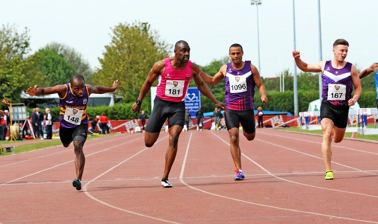 Reuben Arthur takes BUCS 100m gold