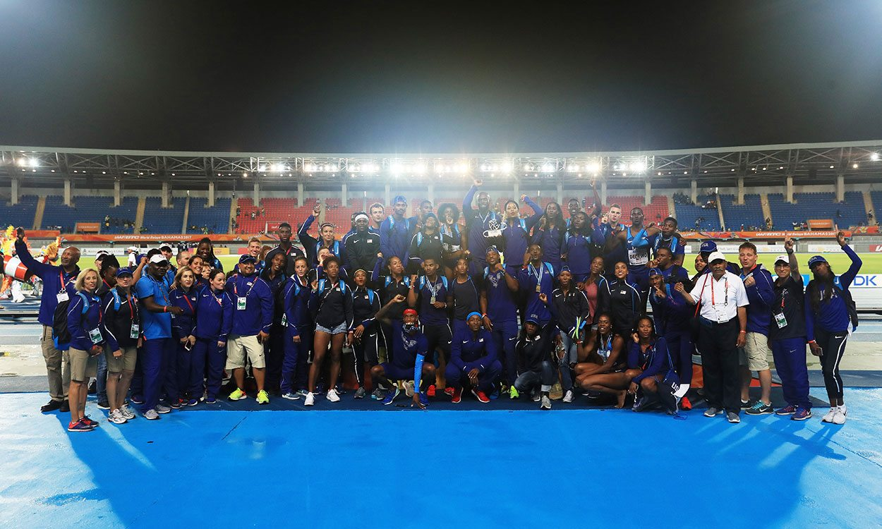 USA wins Golden Baton at IAAF World Relays
