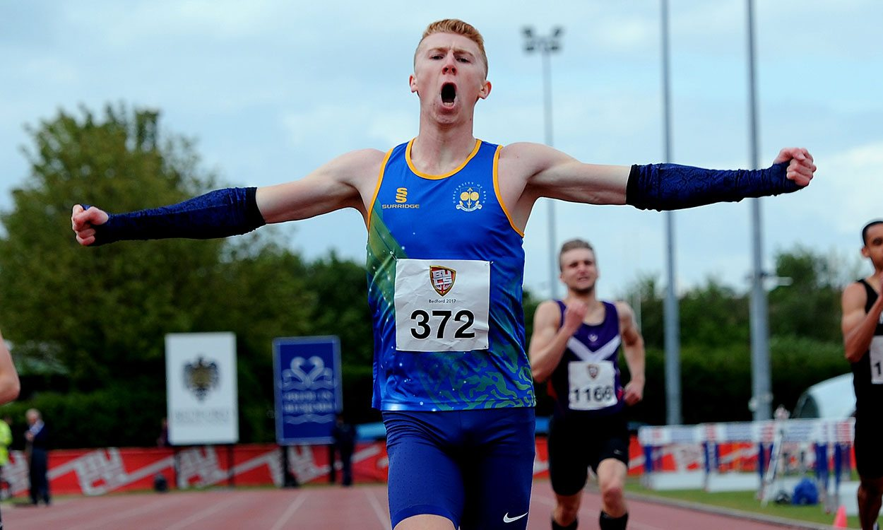 Cameron Chalmers among record breakers at BUCS Championships