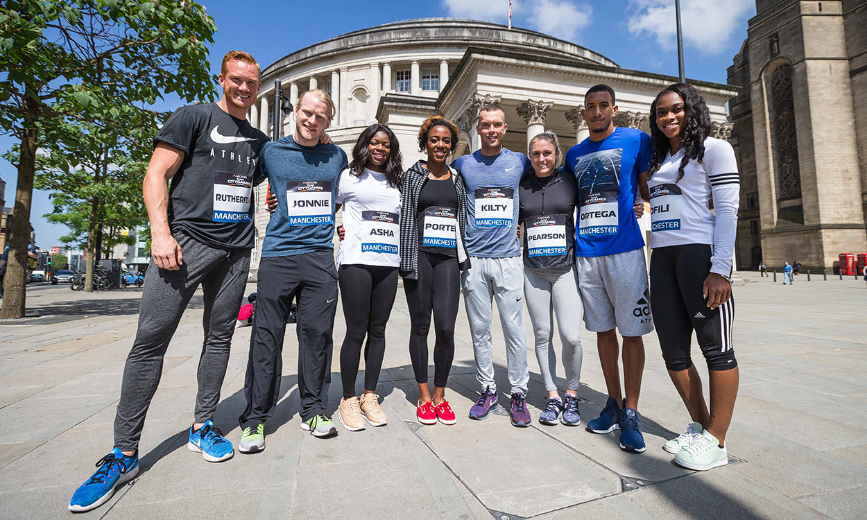 Manchester athletics events give 'platform for people to express their unity'