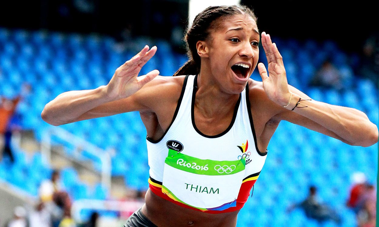 Nafissatou Thiam breaks 7000 points in historic heptathlon
