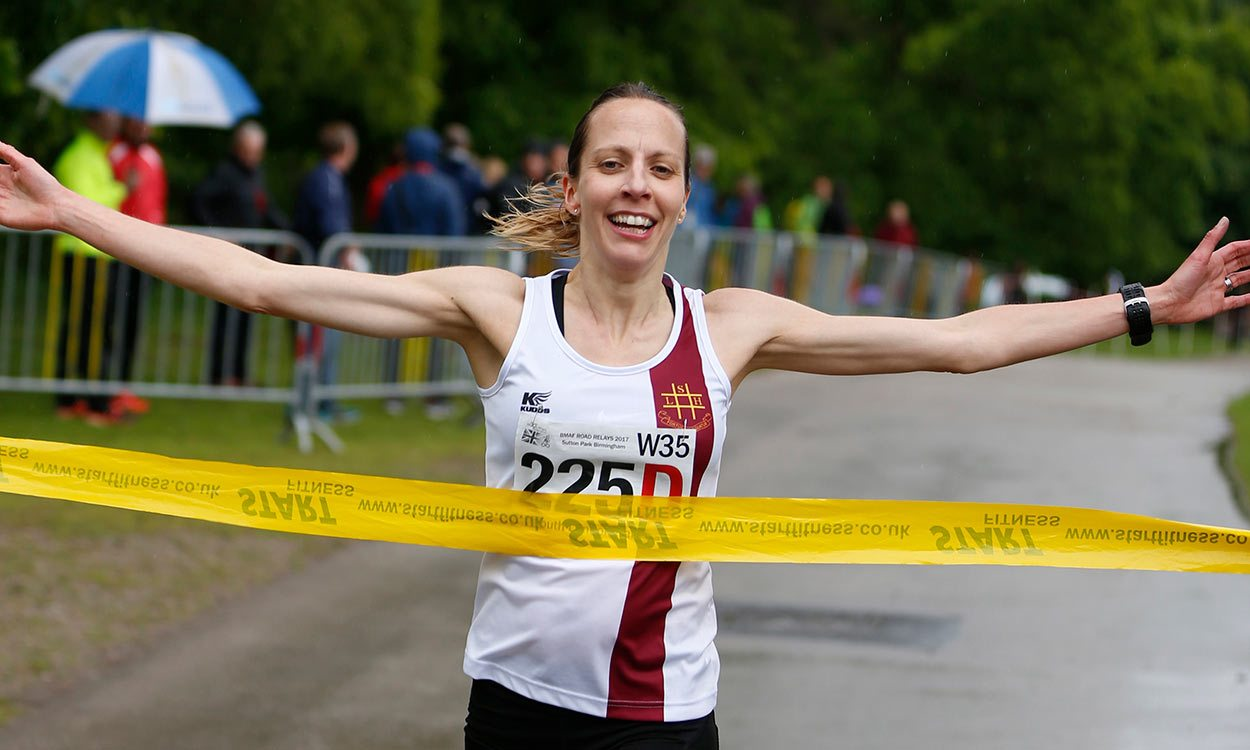 South London clubs share major honours at British Masters Road Relays