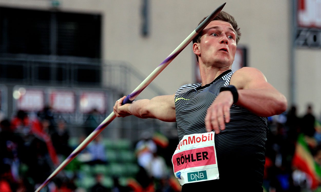 Thomas Röhler goes No.2 all-time with monster javelin throw in Doha
