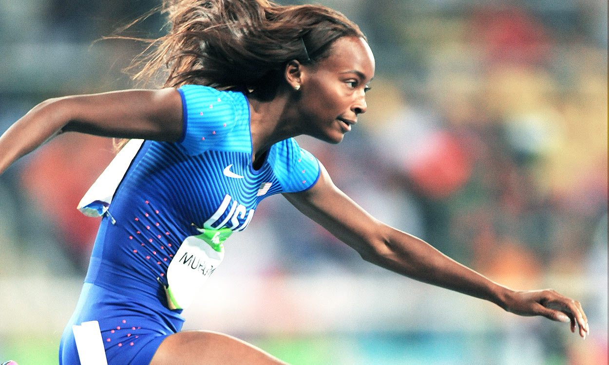 Dalilah Muhammad leads historic hurdles race at US Championships