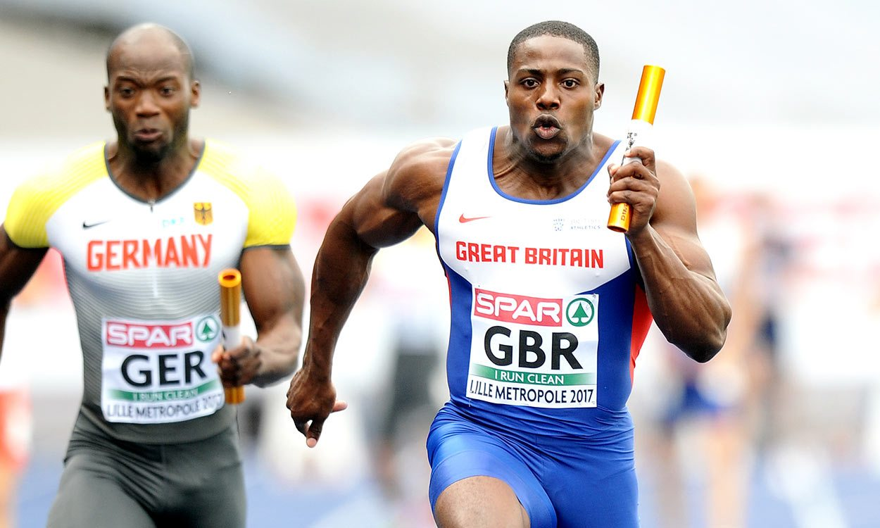 Double delight for Harry Aikines-Aryeetey at European Team Champs