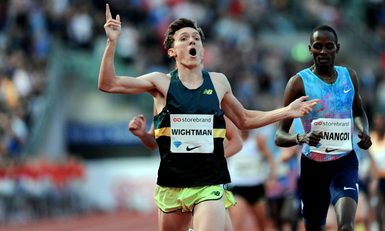 Jake Wightman enjoys run of his life at Bislett Games