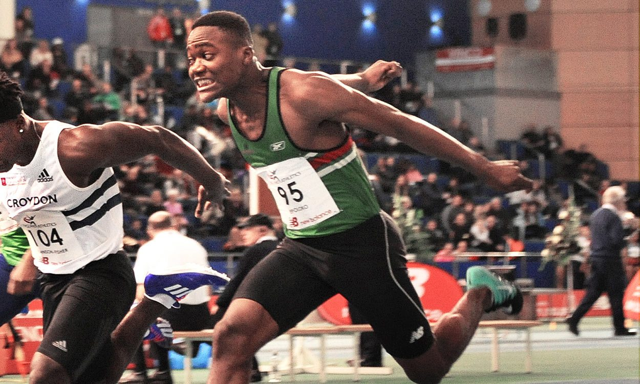 Sprint talent Jona Efoloko shines