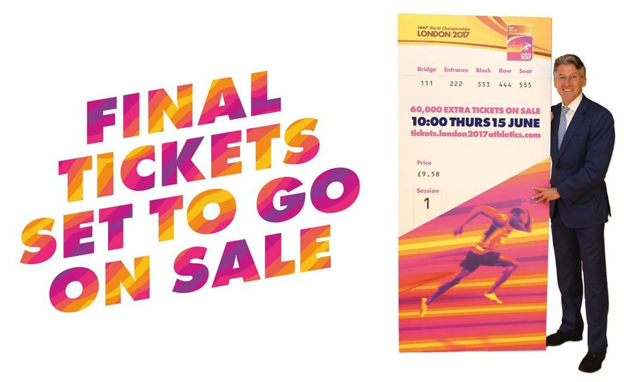 Extra London 2017 tickets available to mark 50 days to go milestone