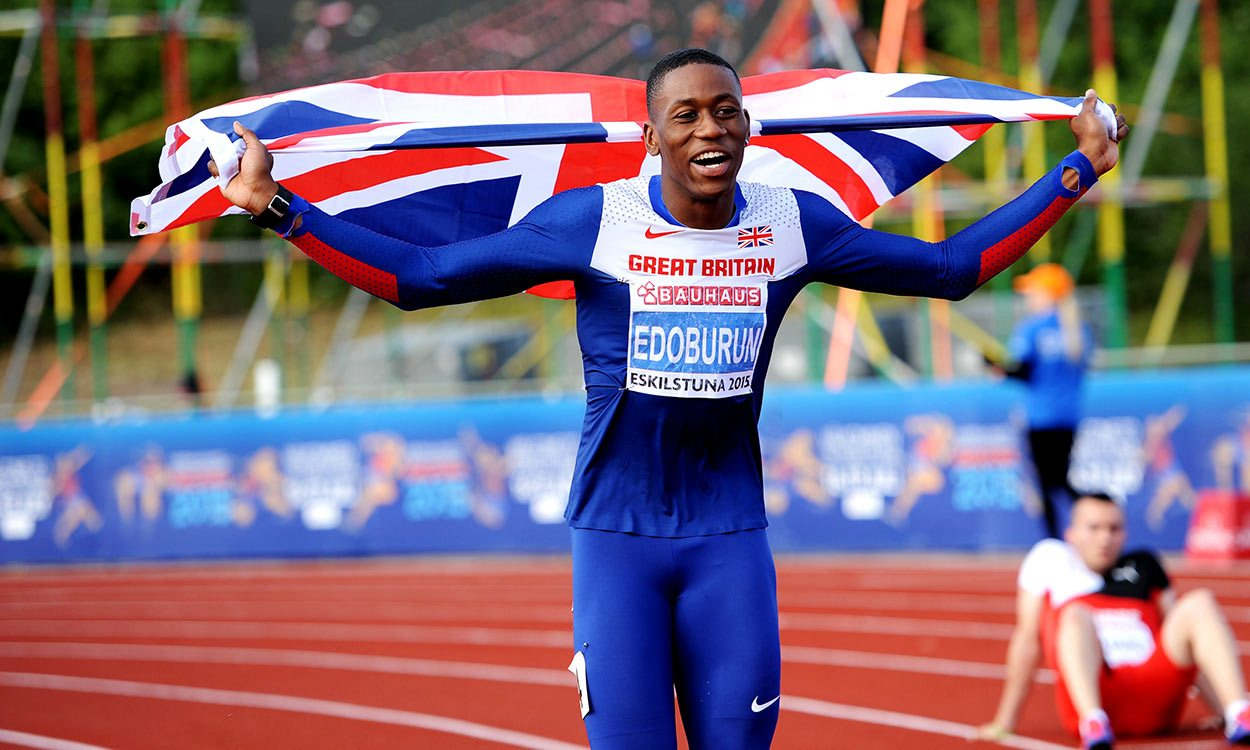 Ojie Edoburun and Morgan Lake on GB European U23 Champs team