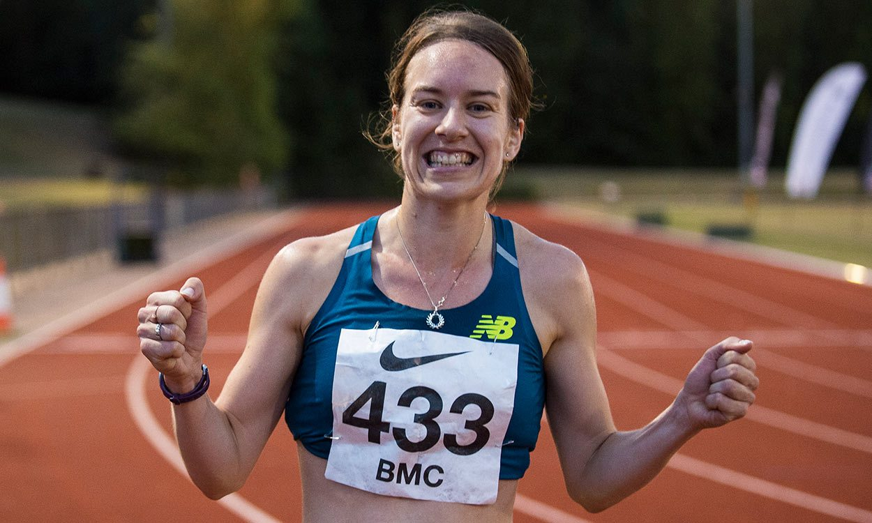 Steph Twell clocks World Champs qualifying time at BMC Watford