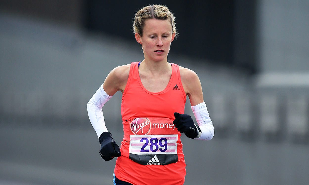 Tracy Barlow's journey from sprinter to GB marathoner