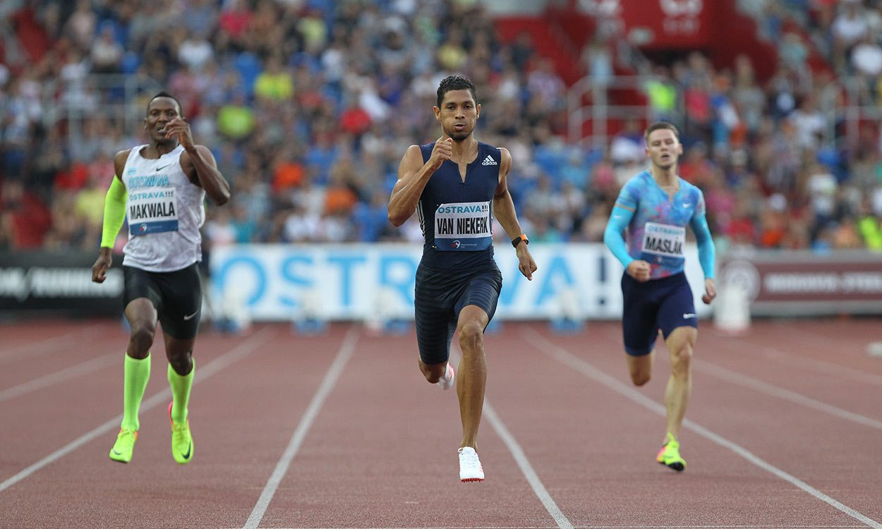 Wayde van Niekerk breaks 300m world best in Ostrava