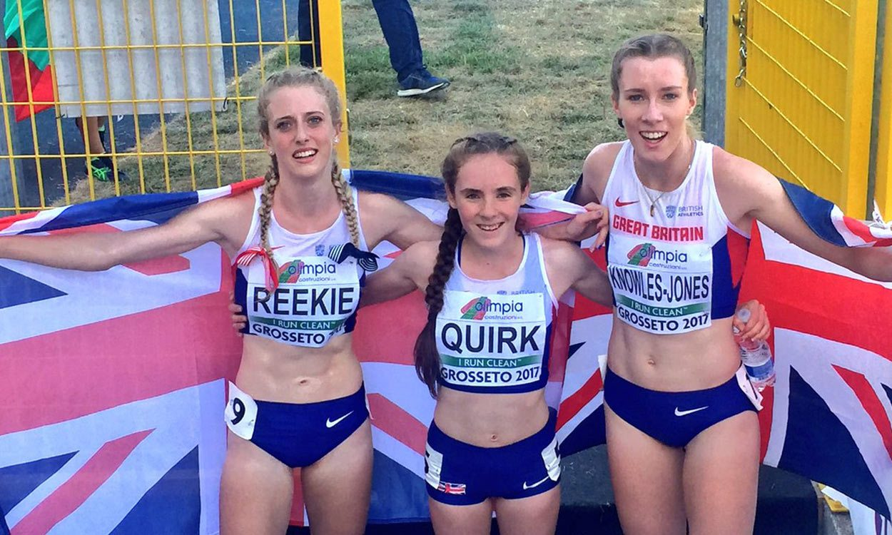 Jemma Reekie among winners on final day of European U20 Champs