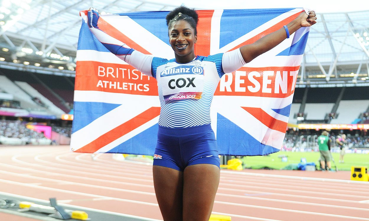 Kadeena Cox wins world gold in London