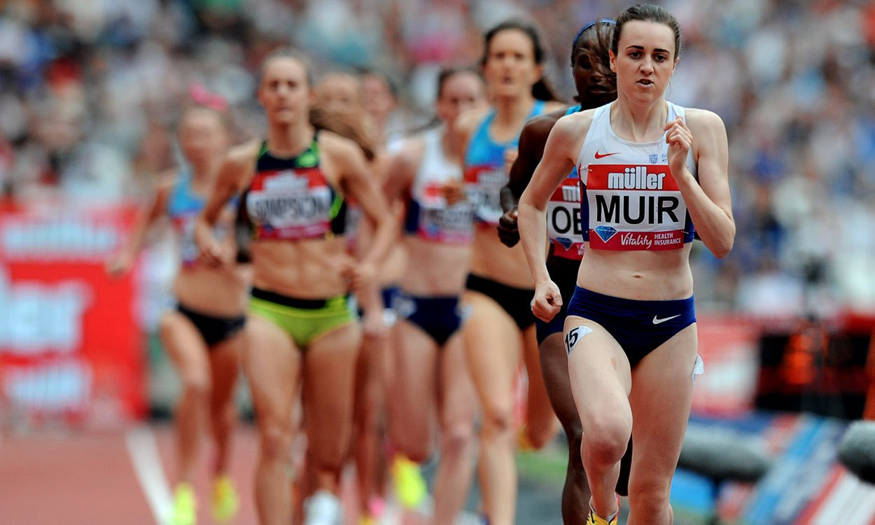 Laura Muir improves Scottish mile record in London