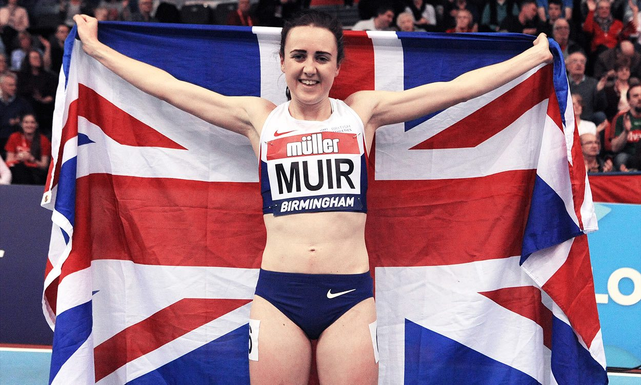 Laura Muir's sense of perspective