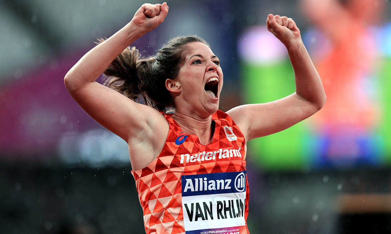 Marlou van Rhijn's express to London gold