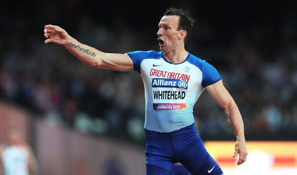 Gold in Berlin for Richard Whitehead