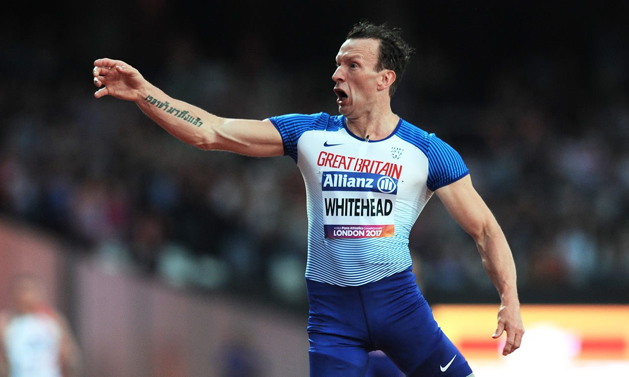 Richard Whitehead wins world 200m gold in London