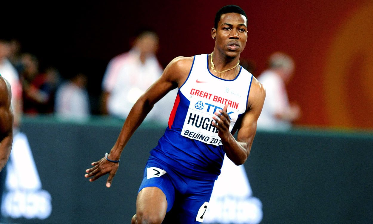 Zharnel Hughes hunting for London 2017 sprint success