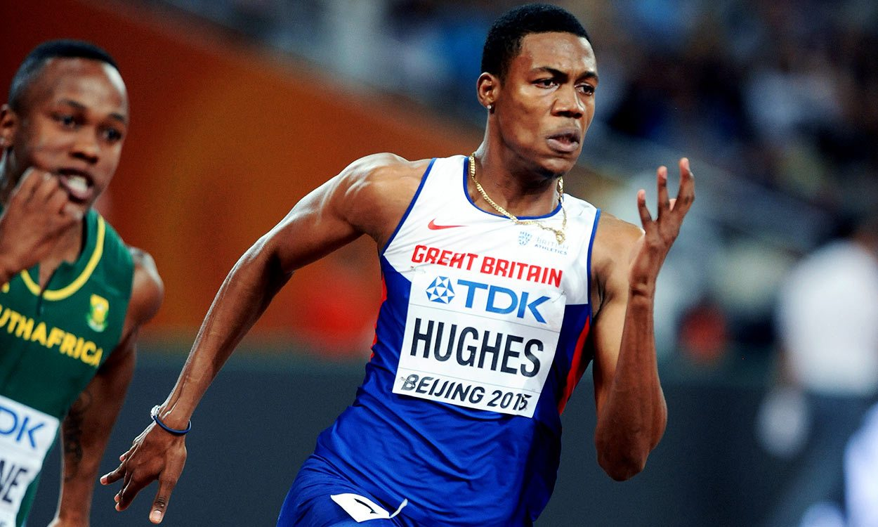 Zharnel Hughes runs 9.91 100m in Kingston