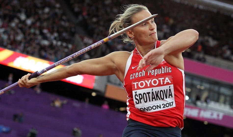 Barbora Spotakova among winners as 'Back on the Track' series starts