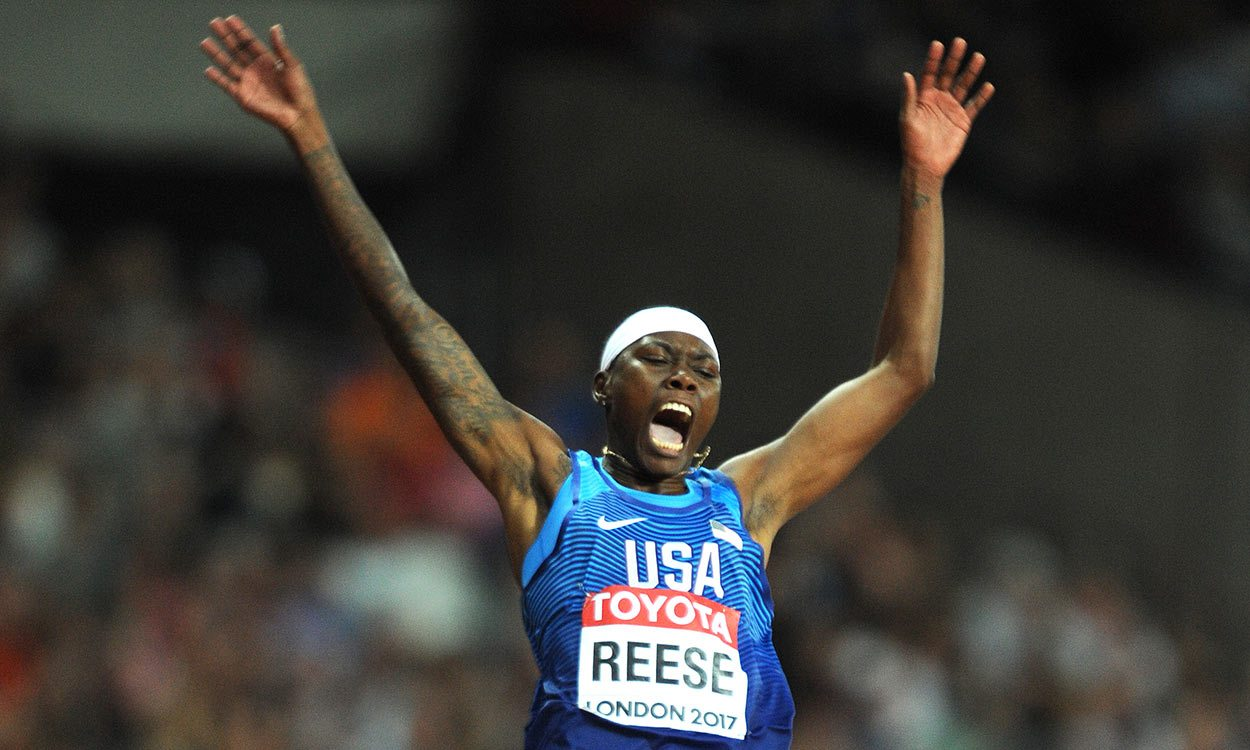 Brittney Reese wins eighth global long jump gold