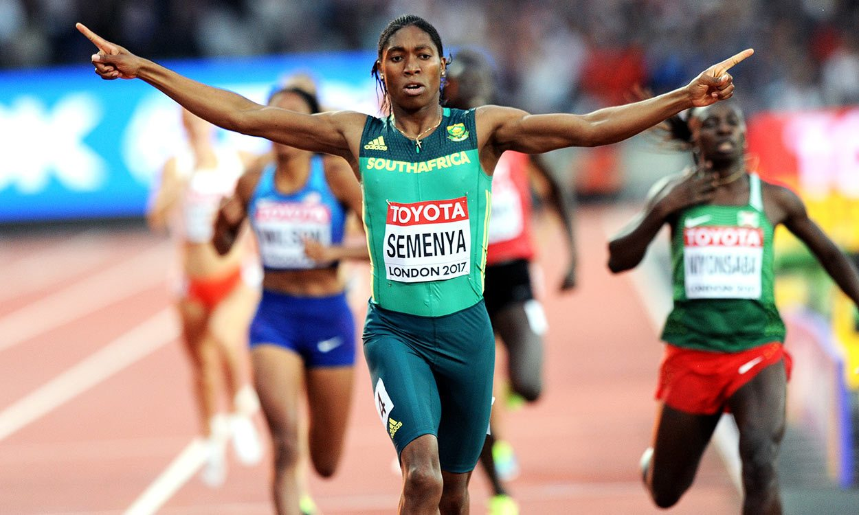 Caster Semenya unstoppable in world 800m