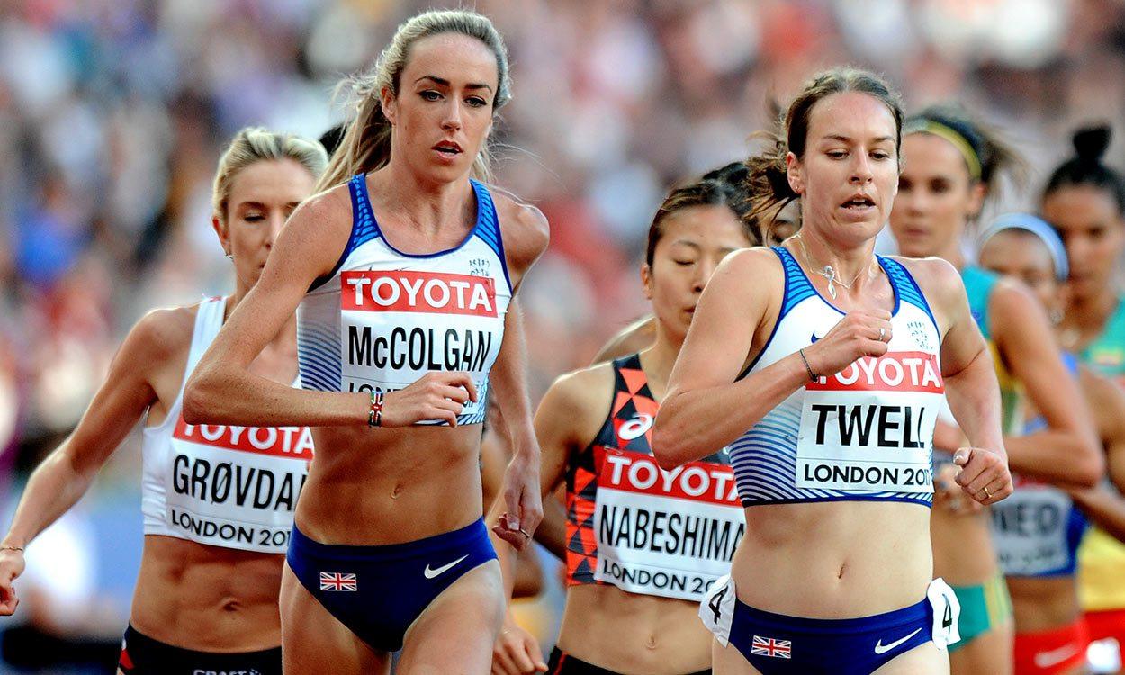 Confidence is key for Eilish McColgan and Chris O'Hare