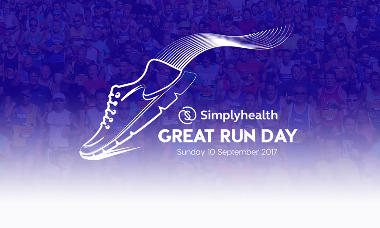 Simplyhealth Great Run Day campaign launches as part of bid for UK's most active weekend