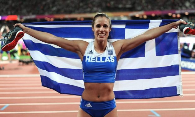 World Indoors gold is a big goal, says Katerina Stefanidi