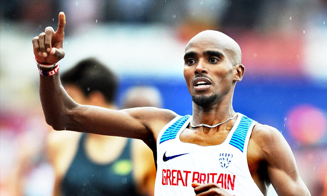 Mo Farah secures thrilling 5000m win to end track career in Zurich