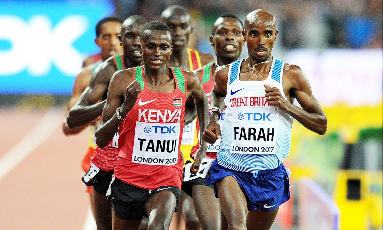 Analysis: Stride length was key for Mo Farah in world 10,000m final