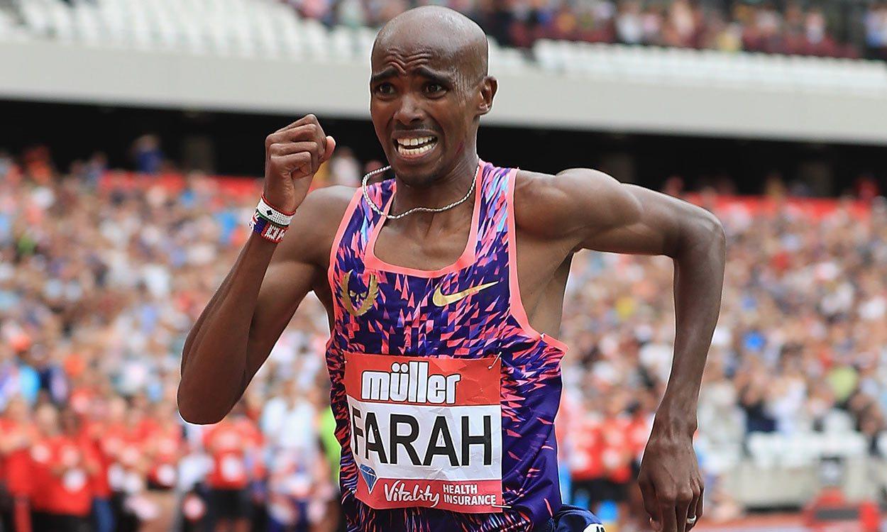 Farah farewell at Birmingham