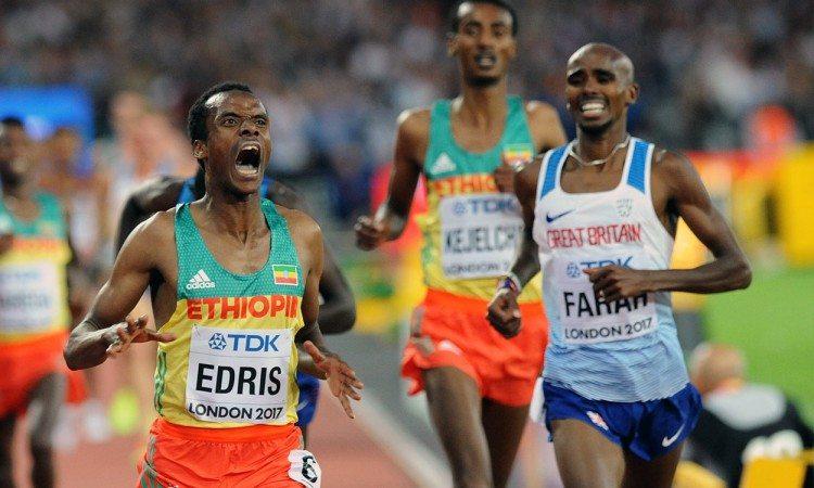 Muktar-Edris-Mo-Farah-London-2017-5000m-by-Mark-Shearman