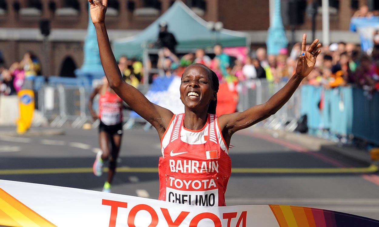 Rose Chelimo and Mare Dibaba set for Great Scottish Run