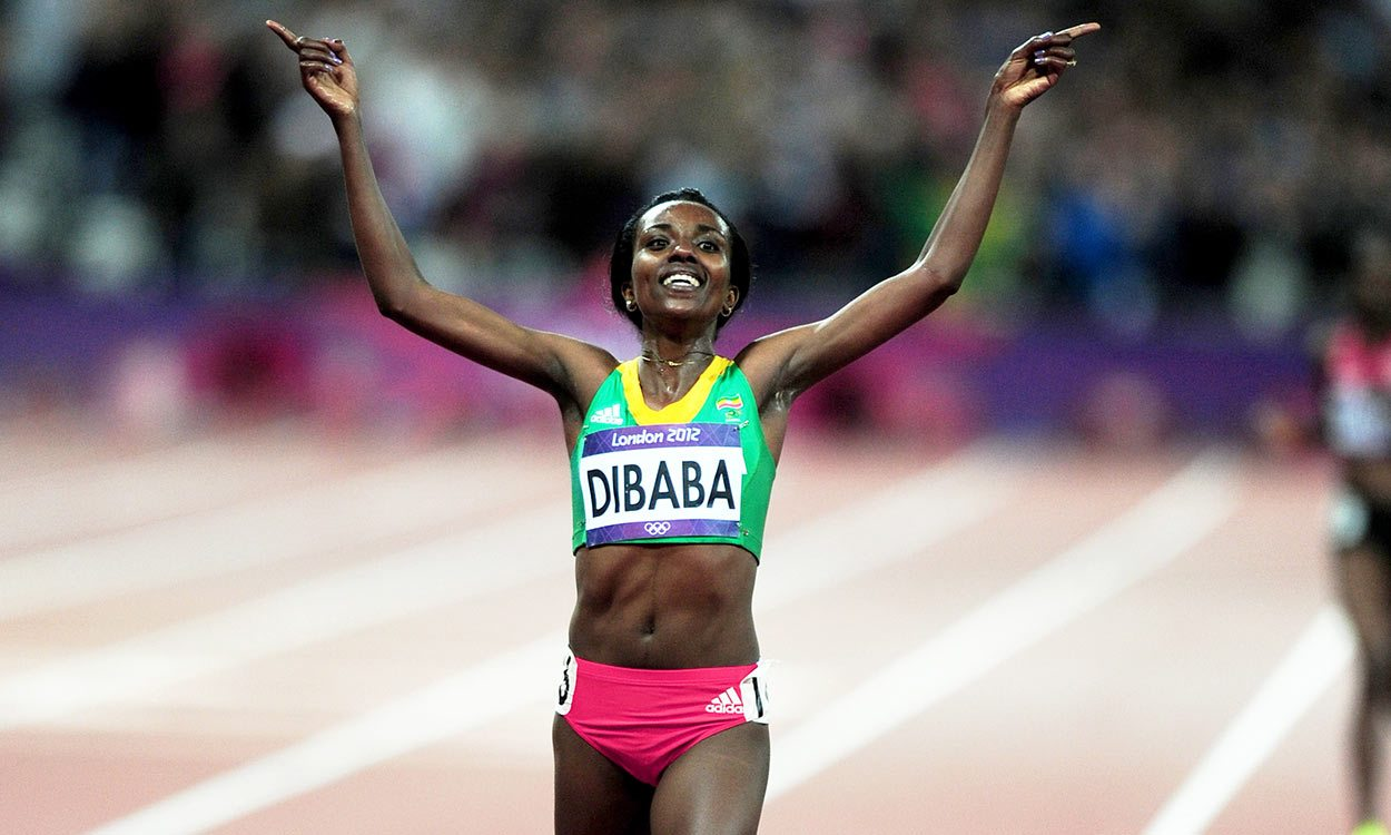 Watch Tirunesh Dibaba run