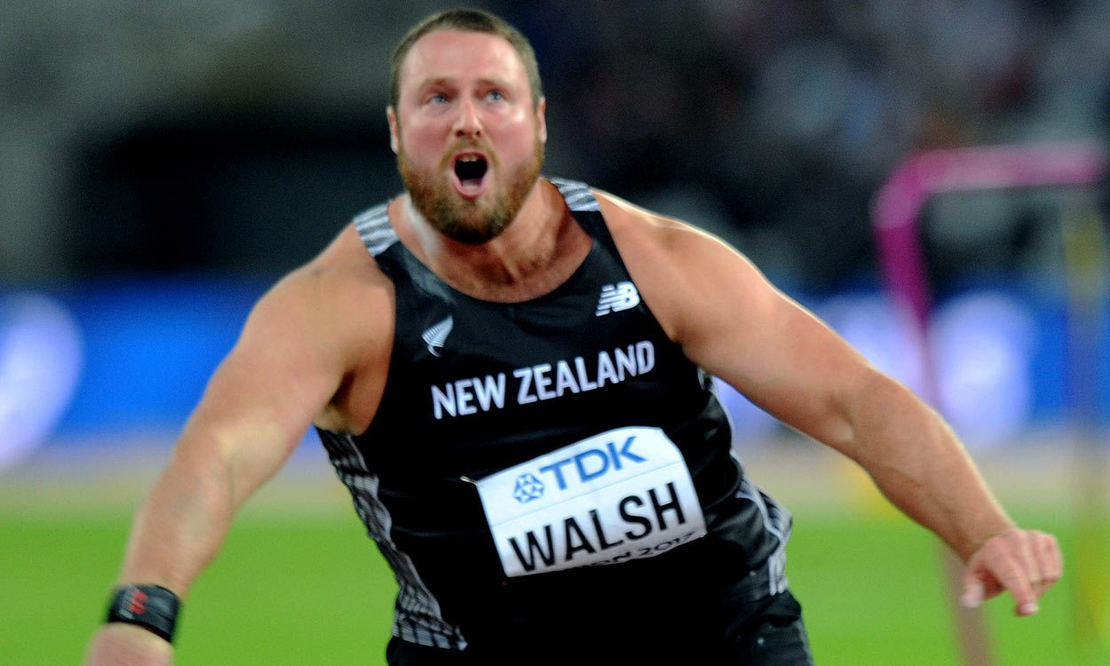 Tom Walsh wins shot gold for New Zealand