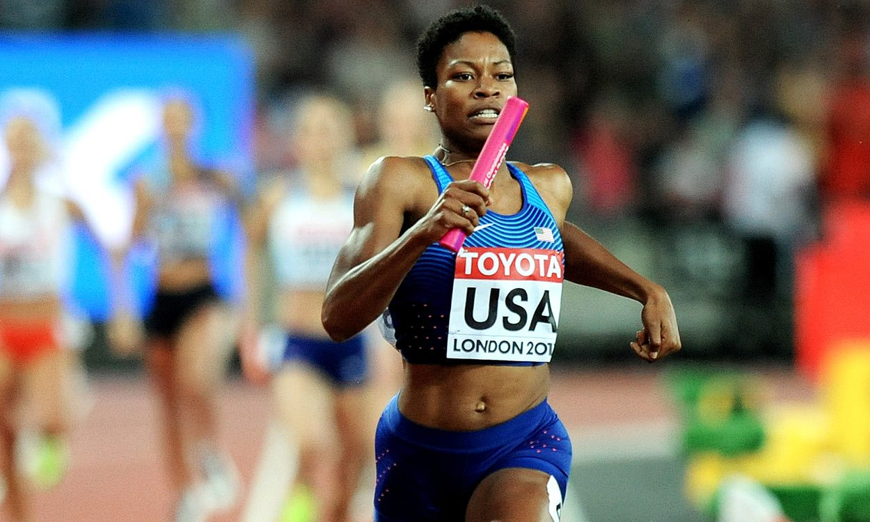 Women's 4x400m goes the American way as Britain land another silver