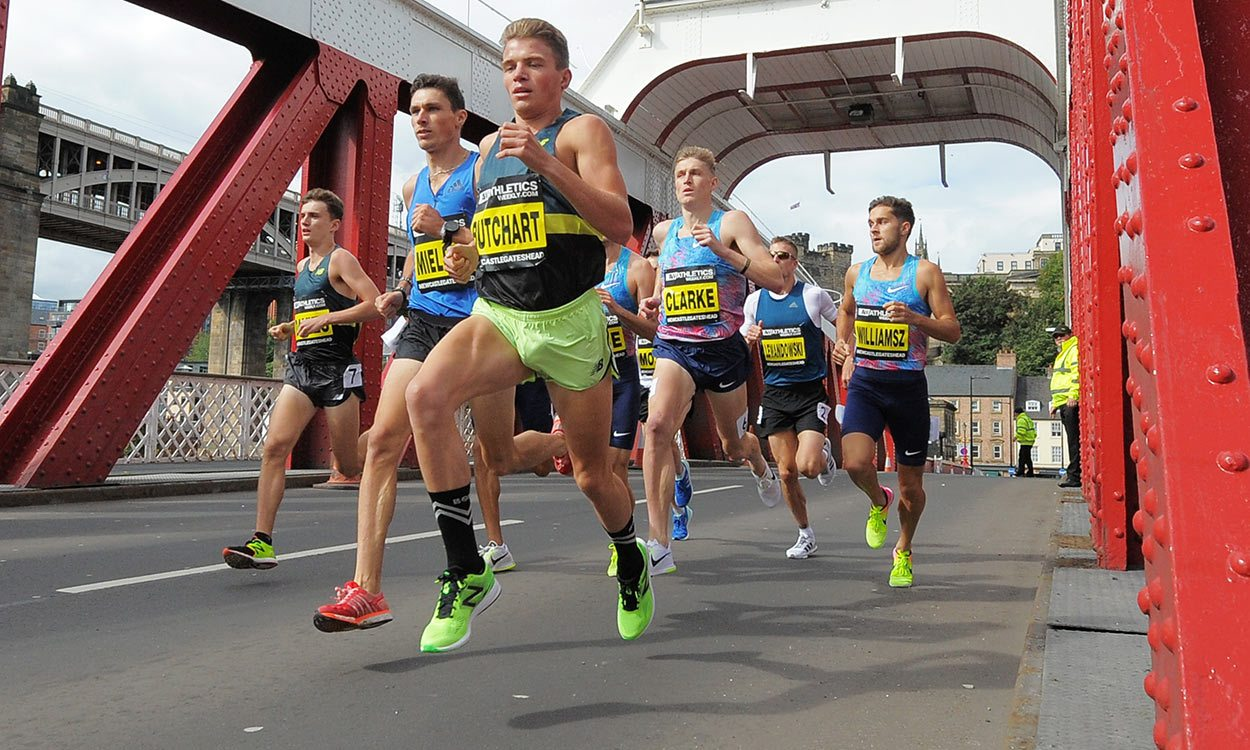 Andrew Butchart set for half-marathon 'fun'